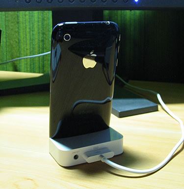 Apple iPhone 3G Dock 背面